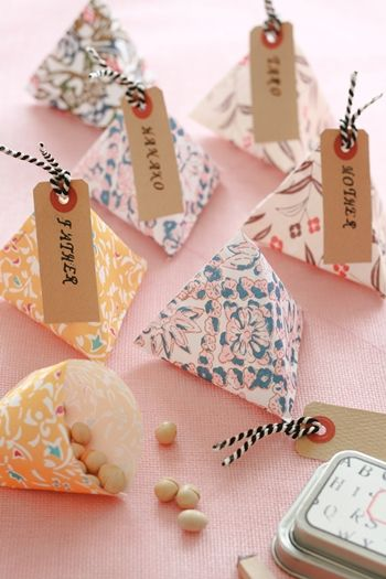 origami emballage cadeaux