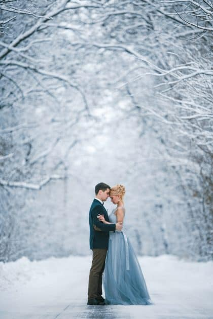 Ambiance mariage hiver