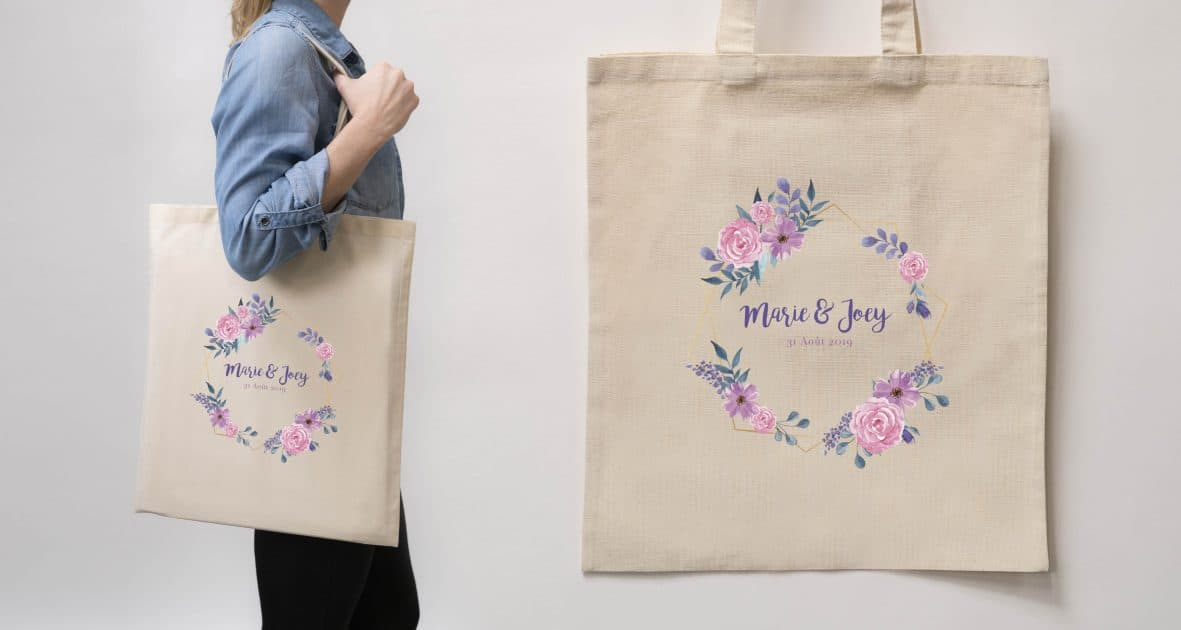 Tote Bag Main Gauche